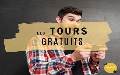 Bonus tours gratuits