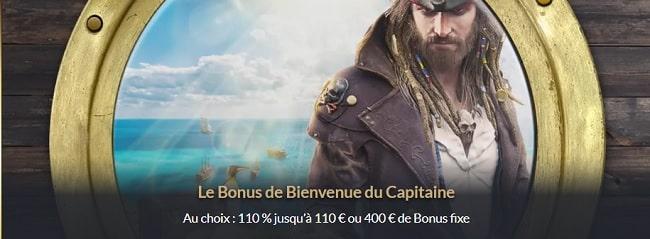Tortuga casino - bonus de bienvenu