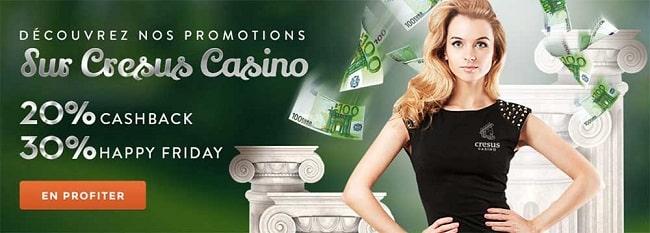 Cresus casino en ligne